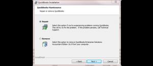 Windows quickbooks repair