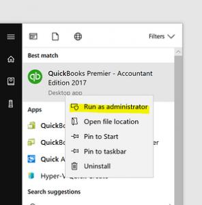 error 15106 in quickbooks desktop