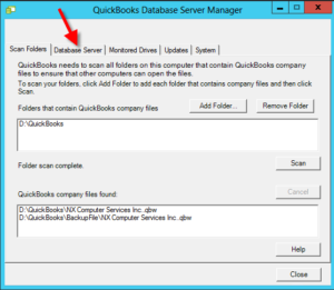 quickbooks database server manager download