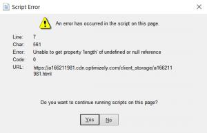 quickbooks script error 0