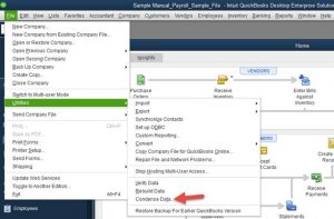 Condense Data in Quickbooks