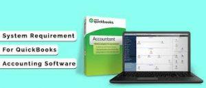 Quickbooks requirements