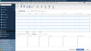 general ledger on quickbooks