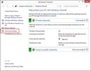 quickbooks desktop firewall ports