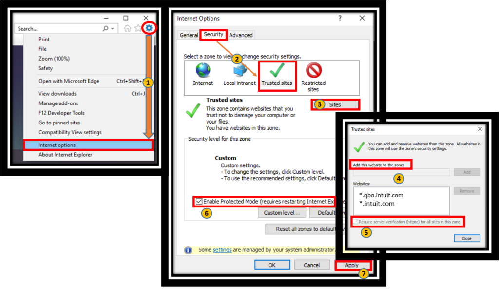Backup failed in Intuit data protect