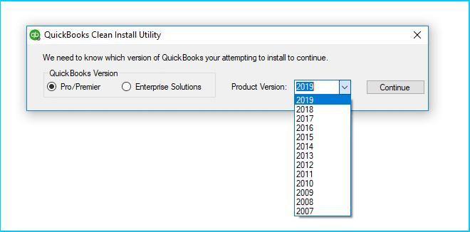 Quickbooks registration file error