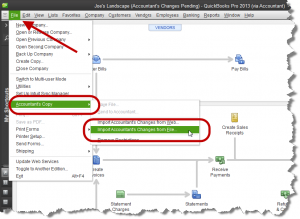 create accountant's copy in quickbooks desktop