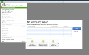 unable to open company file in quickbooks desktop