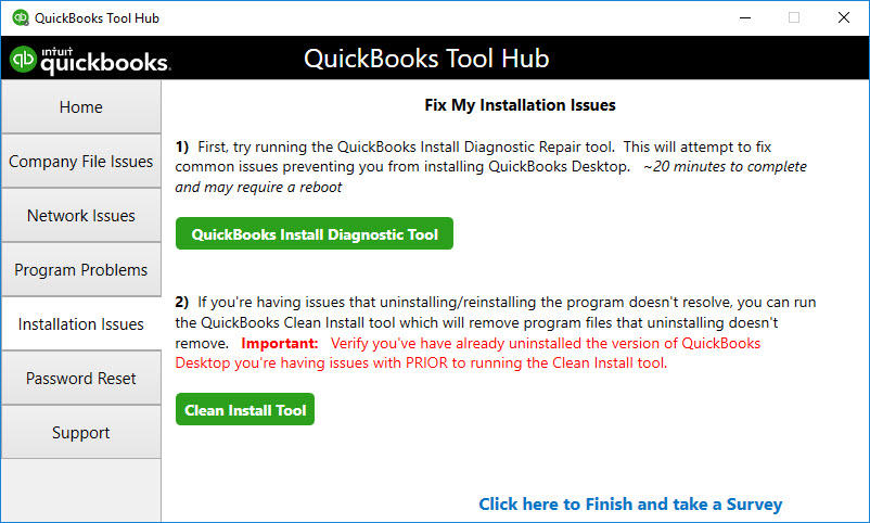 Qb Clean Install Tool