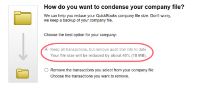 Quickbooks Audit trail removal