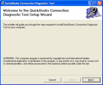 Connection diagnostic Tool
